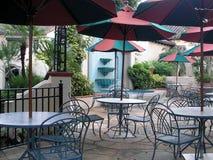 Openlucht Restaurant stock afbeeldingen