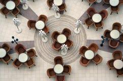 Openlucht restaurant 3 Stock Afbeeldingen