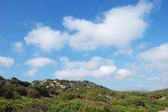 In openlucht in Sardinige Stock Foto's