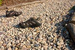 Openlucht schoenen Stock Foto