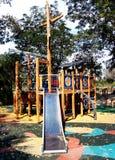Openlucht speelplaats Stock Foto's