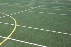 Openlucht sportenoppervlakte Stock Afbeeldingen