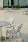 Openlucht stoelen Stock Afbeelding