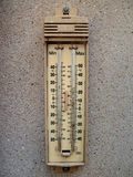 Openlucht thermometer Stock Foto