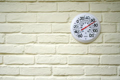 Openlucht Thermometer Royalty-vrije Stock Foto