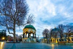 Openlucht Turks Rustend Paviljoenpark stock afbeeldingen