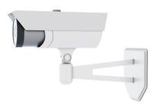 Openluchtkabeltelevisie-geïsoleerde Camera het 3d teruggeven Royalty-vrije Stock Afbeelding