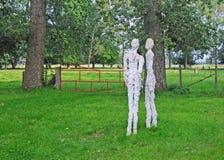openluchtkunsttentoonstelling dichtbij Brugge Royalty-vrije Stock Afbeelding