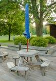 Openluchtlunch en picknick Royalty-vrije Stock Afbeeldingen