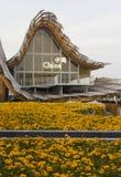 Openluchtmening van Chinees Paviljoen in Expo 2015 Royalty-vrije Stock Foto's