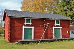 Openluchtmuseum Hägnan Stock Foto's