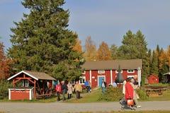 Openluchtmuseum Hägnan Royalty-vrije Stock Afbeeldingen