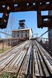 Openluchtmuseum, kolenmijn Mayrau, Vinarice, Kladno, Tsjechische repu Stock Afbeelding