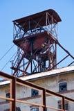 Openluchtmuseum, kolenmijn Mayrau, Vinarice, Kladno, Tsjechische repu Stock Fotografie