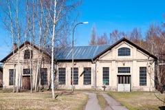 Openluchtmuseum, kolenmijn Mayrau, Vinarice, Kladno, Tsjechische repu Royalty-vrije Stock Foto's