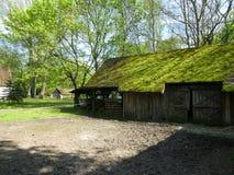 Openluchtmuseum in Sucha-dorp Stock Foto