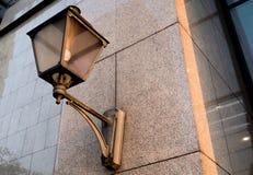Openluchtnachtlamp Royalty-vrije Stock Foto's