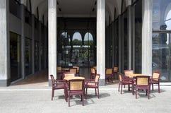 Openluchtparkeerplaats Stock Afbeelding