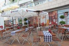 Openluchtrestaurant Stock Fotografie