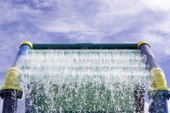 Openluchtwaterspeelplaats Stock Foto