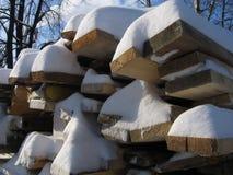 Opent sneeuw het programma Stock Fotografie