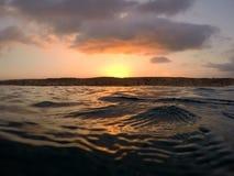 Openwater wschód słońca w Tel Aviv zdjęcie royalty free