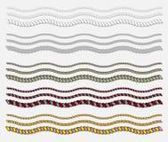 Openwork веревочка большое украшение для всех рамок Стоковое Фото