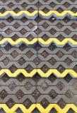 Openwork betonconstructie Royalty-vrije Stock Foto's