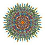 Openwork colorful mandala. Circular elegant ornament. Vector. stock photo
