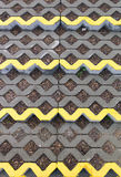 Openwork concrete structure Royalty Free Stock Photos