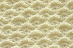 Openwork crocheting pattern stock photo