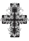 Openwork cross Stock Images