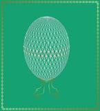 Openwork Easter egg Stock Photography