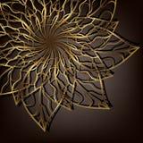 Openwork flower Royalty Free Stock Photos