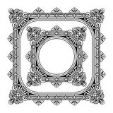 Openwork frame vector Stock Images