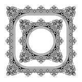 Openwork frame vector Stock Images