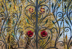 Openwork gate Royalty Free Stock Images