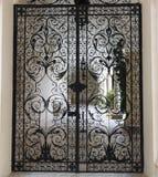 Openwork gates at Livadiya Palace Royalty Free Stock Images