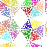 Openwork geometryczny wzór Obrazy Royalty Free