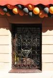 Openwork Gitterfenster Lizenzfreie Stockbilder