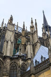 Openwork gothic Cologne Cathedral Stock Images