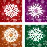 Openwork handmade snowflake vector Royalty Free Stock Photo