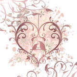 Openwork heart Royalty Free Stock Photography