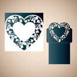Openwork heart. Stock Photos