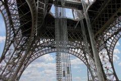 The openwork interweaving Eiffel Tower. Stock Image