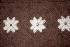 Openwork of Orenburg downy shawl; Royalty Free Stock Photos