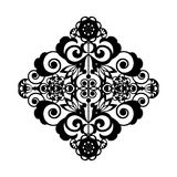 Openwork ornamental pattern Royalty Free Stock Image