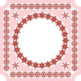 An openwork pattern of ethnic style_frame_3 Royalty Free Stock Images