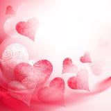 Openwork rood hart Royalty-vrije Stock Fotografie