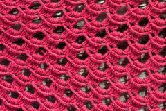 Openwork scarf Royalty Free Stock Image